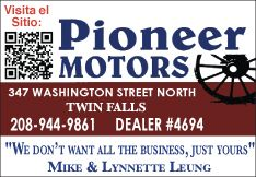 Pioneer Motors - Cars for sale in Twin Falls Idaho