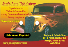 Jim's Auto Upholstery
