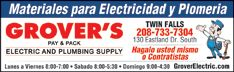 Grover's Electric and Plumbing Supply