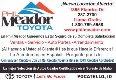 Phil Meador Toyota - New and used Camry's and Corrola's in stock, Pocatello ID