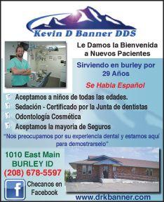 Kevin D Banner, DDS