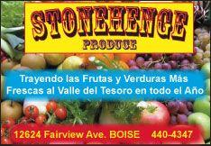 Stonehenge Produce