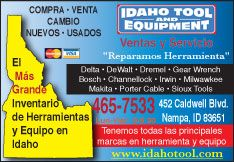 Idaho Tool and Equipment