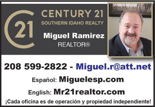 Century 21 - Miguel A. Ramirez