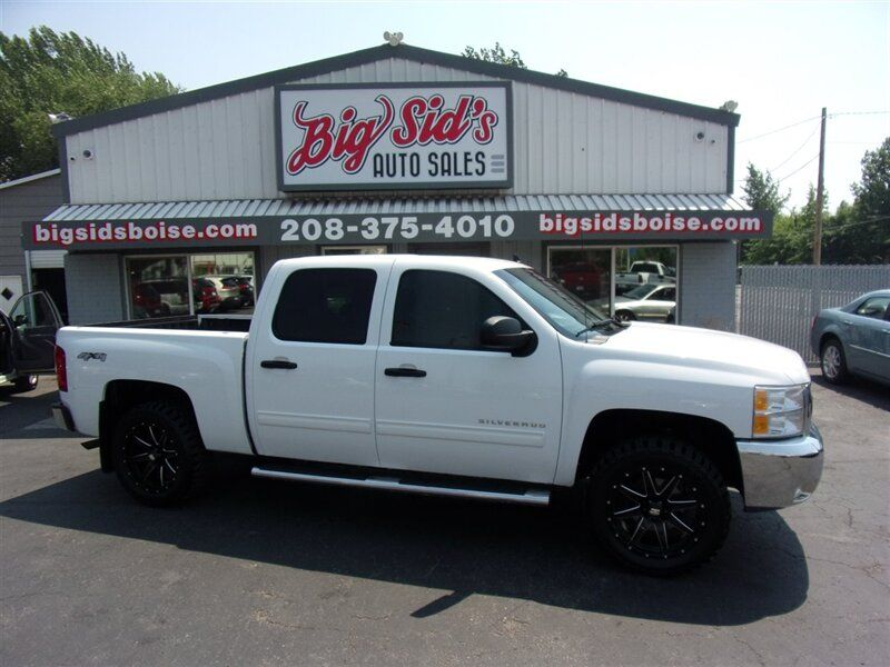 2012 - Chevrolet - Silverado 1500 - $25,450