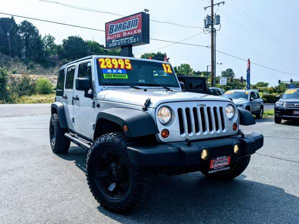 2012 - JEEP - WRANGLER UNLIMI - $28,995