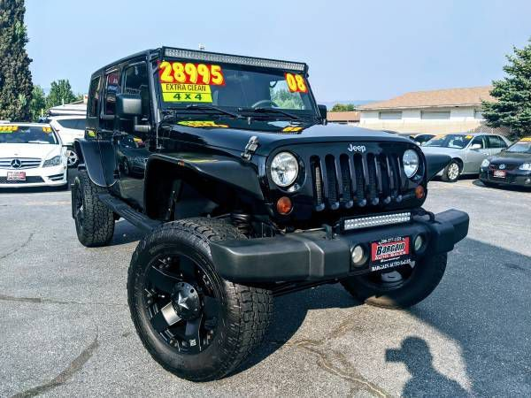 2008 - JEEP - WRANGLER UNLIMI - $28,995