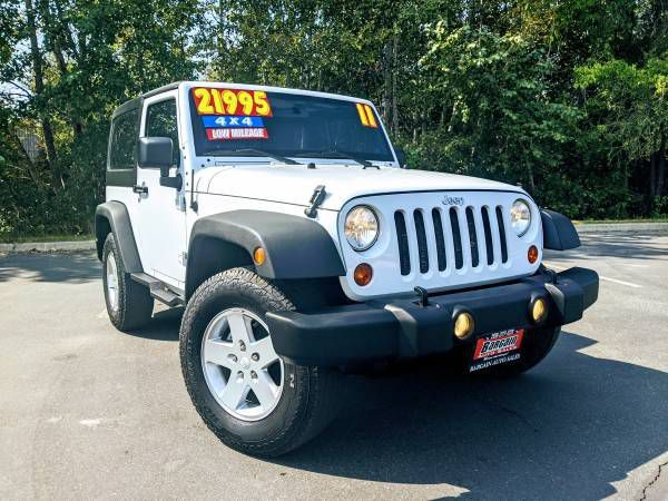 2011 - JEEP - WRANGLER - $21,995