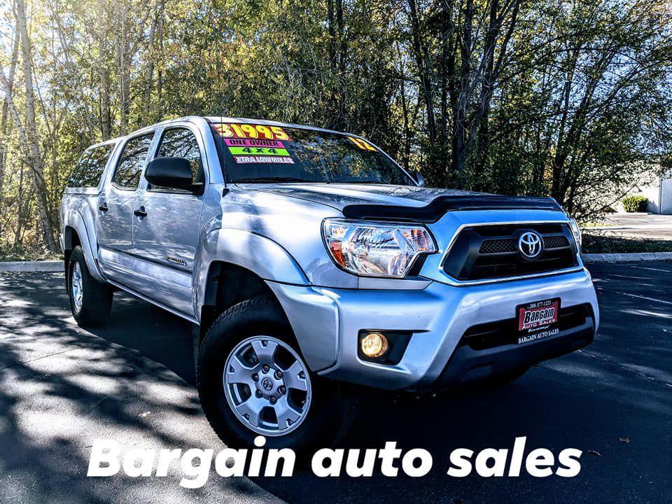 2012 - TOYOTA - TACOMA - $31,995