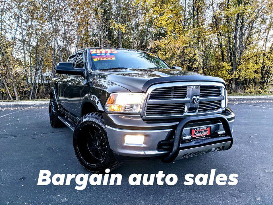 2012 - DODGE - RAM 1500 - $21,995