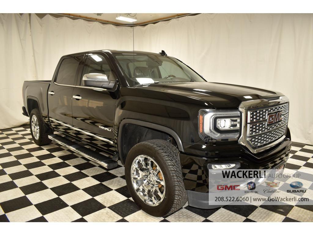 2017 - GMC - Sierra - $44,525