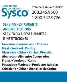 Sysco Idaho, Inc.
