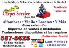 Bob's Carpet Service