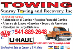 Sunray Towing and Recovery, Inc.