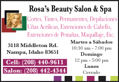 Rosa's Beauty Salon and Spa