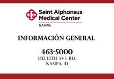 Saint Alphonsus Medical Center