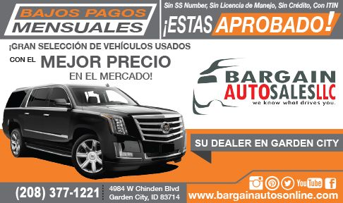 Bargain Auto Sales *Click Here for Inventory>