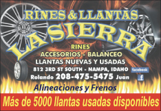 La Sierra Wheels & Tires