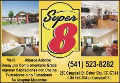 Super 8 - Baker City, OR.